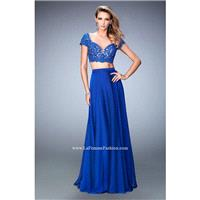 Marine Blue La Femme 22501 La Femme Prom - Rich Your Wedding Day