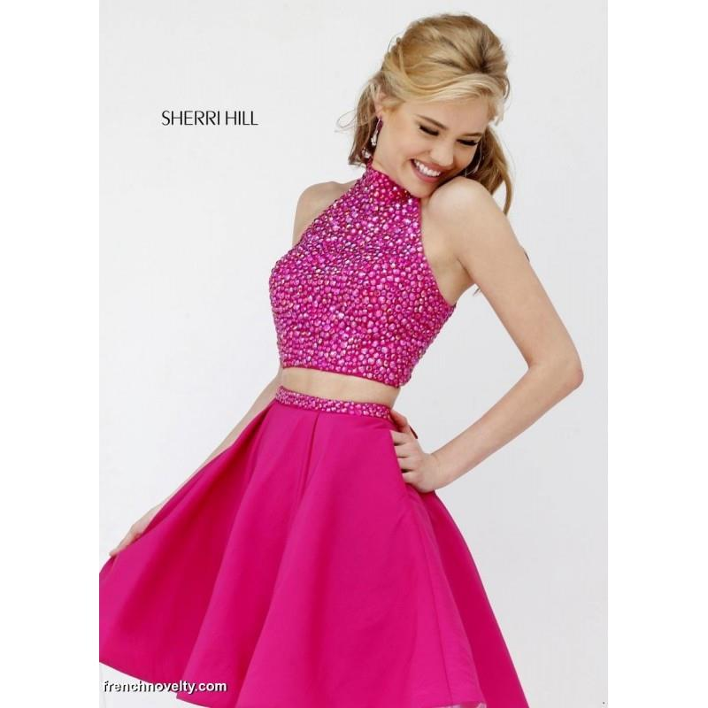 My Stuff, Sherri Hill 11317 Two Piece Short Party Dress - Brand Prom Dresses|Beaded Evening Dresses|