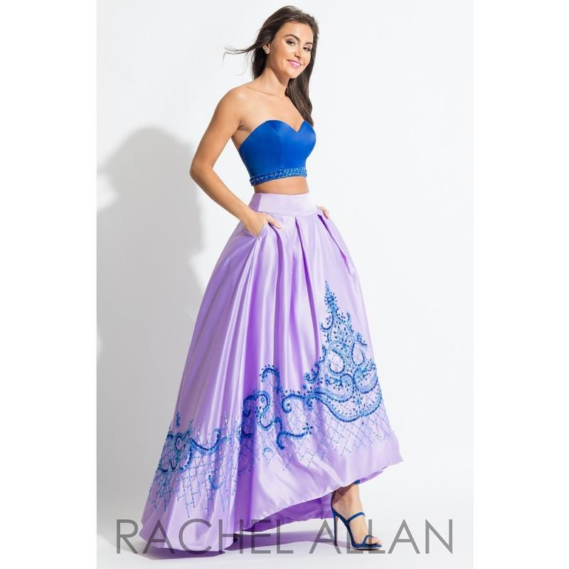 My Stuff, Rachel Allan 7519 Prom Dress - Strapless, Sweetheart Long Prom Rachel Allan 2 PC, A Line,