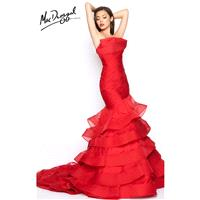 Black Mac Duggal 80559R - Customize Your Prom Dress