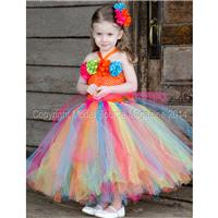 Spring Breezy Couture Tutu Dress/ Pageant Attire/Tutu Dress - Hand-made Beautiful Dresses|Unique Des