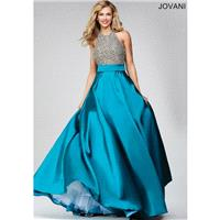 Jovani 29160 Prom Dress - Prom A Line Halter Jovani Long Dress - 2017 New Wedding Dresses