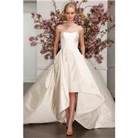Style L7130 by Legends by Romona Keveza - LaceSilkTaffeta Semi-Cathedral Strapless Sleeveless Ballgo