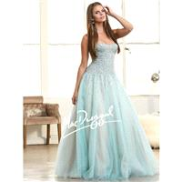 Mac Duggal 62103H Tulle Ball Gown - Brand Prom Dresses|Beaded Evening Dresses|Charming Party Dresses