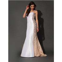 Jovani 73842 White / Nude - 2017 Spring Trends Dresses|Beaded Evening Dresses|Prom Dresses on sale