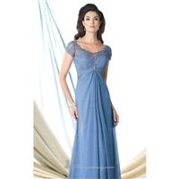 Chiffon Lace Gown  by Mon Cheri Montage 114918 - Bonny Evening Dresses Online