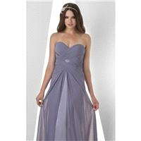 Wisteria Crisscross Charmeuse Gown by Bari Jay - Color Your Classy Wardrobe