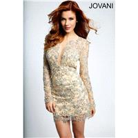 Jovani Short Cocktail Jovani Short and Cocktail 98055 - Fantastic Bridesmaid Dresses|New Styles For