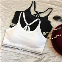 Must-have Sport Style Strapless Wire-free Alphabet Summer Underwear - beenono.com