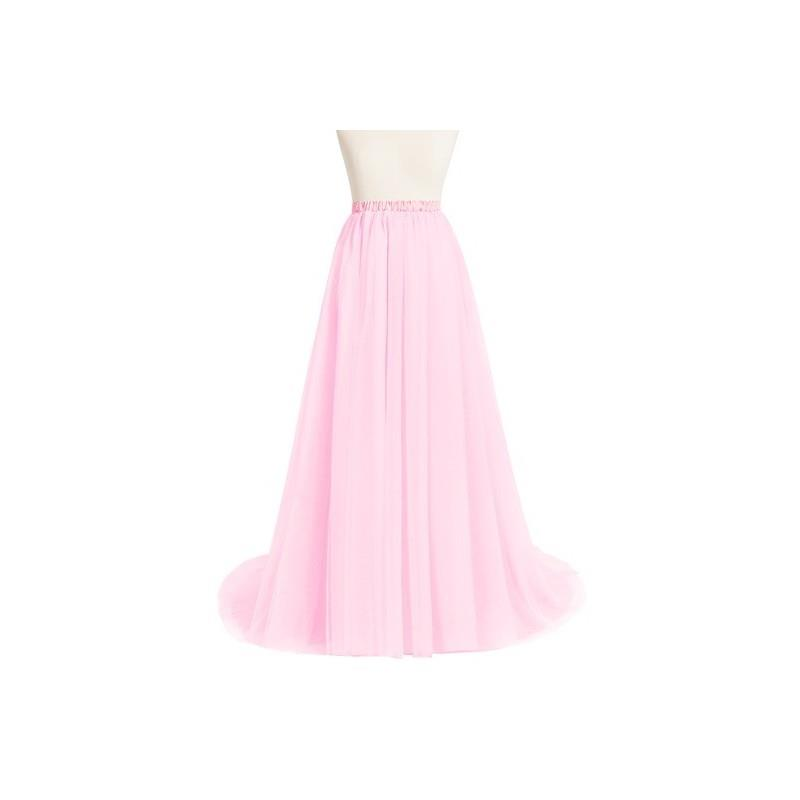 My Stuff, Candy_pink Azazie Margot - Floor Length Tulle And Charmeuse Dress - Charming Bridesmaids S