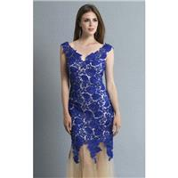 Floral Lace Dress by Dave and Johnny 10404 - Bonny Evening Dresses Online