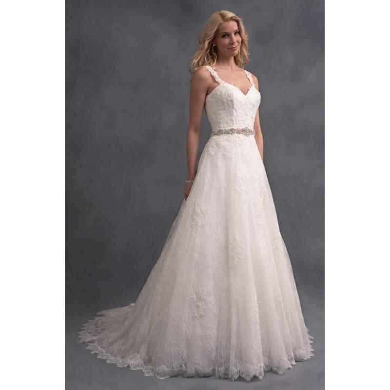 My Stuff, Style 2589 by Alfred Angelo Signature Collection - Chapel Length Floor length A-line Sleev