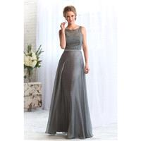 Style L164070 by Jasmine Belsoie - Chiffon  Lace Floor High A-Line Jasmine Belsoie - Bridesmaid Dres