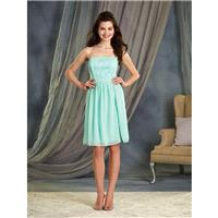 Aqua Alfred Angelo Bridesmaids 7378S - Brand Wedding Store Online