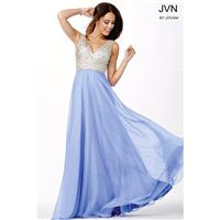 Jovani Embellished Chiffon Dress JVN20437 - Wedding Dresses 2017,Cheap Bridal Gowns,Prom Dresses On