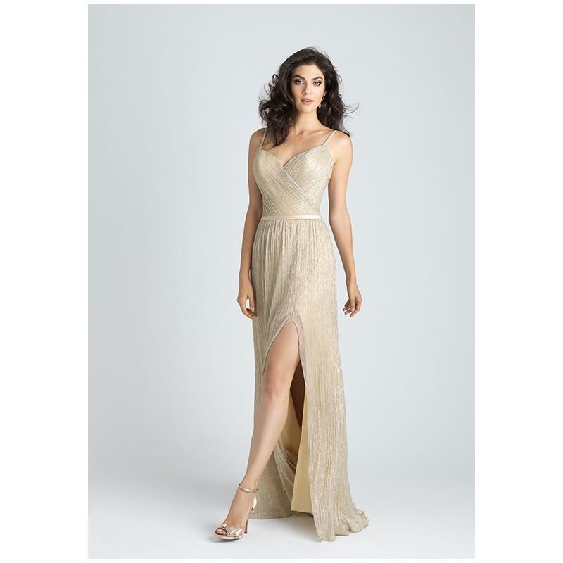 My Stuff, Allure Bridesmaids 1515 - Sheath Sweetheart Floor Natural Ruching - Formal Bridesmaid Dres