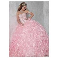 Junoesque Diamond Tulle Sweetheart Neckline Ball Gown Quinceanera Dresses With Beadings & Rhinestone