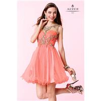 Coral Alyce Paris Homecoming 3674 - Brand Wedding Store Online