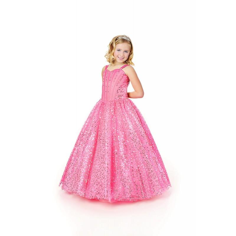 My Stuff, Lil Anjali Little Girl Pageant Dresses by Karishma Creations 1003 - Rosy Bridesmaid Dresse