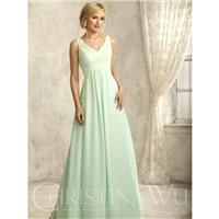 Christina Wu Celebration 22734 Tank Lace + Chiffon Floor Length Bridesmaid Dress - Crazy Sale Bridal