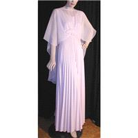 1970's Vintage Gown ~ made by Susan Wayne - Hand-made Beautiful Dresses|Unique Design Clothing