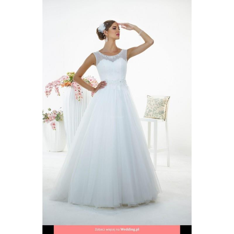 My Stuff, Relevance Bridal - Bologna White Butterfly Floor Length Boat Classic Sleeveless No - Forma
