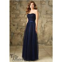Morilee Bridesmaids 116 Strapless Lace and Tulle Dress - Crazy Sale Bridal Dresses|Special Wedding D
