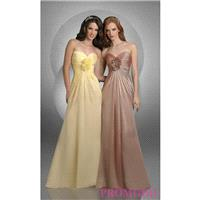 Shirred Bodice Bridesmaid Dress by Bari Jay - Brand Prom Dresses|Beaded Evening Dresses|Unique Dress