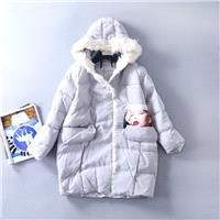 Must-have Vogue Sweet Coat Cotten Coat Hat - Discount Fashion in beenono