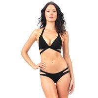 Voda Swim - Black Seamless Cutout Bottom - Designer Party Dress & Formal Gown