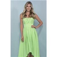 Strapless Pleated Dresses by Landa Designs BridesmaidsStrapless Pleated Dresses by Landa Designs Bri