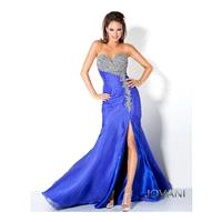 Classical Sexy Sweetheart Beaded Strapless Satin Mermaid 2013 Evening/celebrity/pageant Dress Jovani