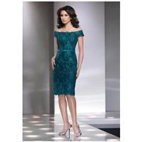 Social Occasions by Mon Cheri 214840 Mother Of The Bride Dress - The Knot - Formal Bridesmaid Dresse