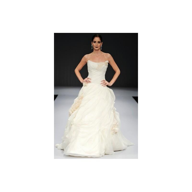 My Stuff, Anne Barge FW12 Dress 1 - Fall 2012 Strapless Ball Gown Ivory The Anne Barge Collections F