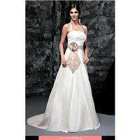 Bellice - BB121028 2012 Floor Length Straight A-line Sleeveless Long - Formal Bridesmaid Dresses 201