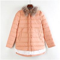 Vogue Slimming White Winter Duck Down Feather jacket Coat - Lafannie Fashion Shop