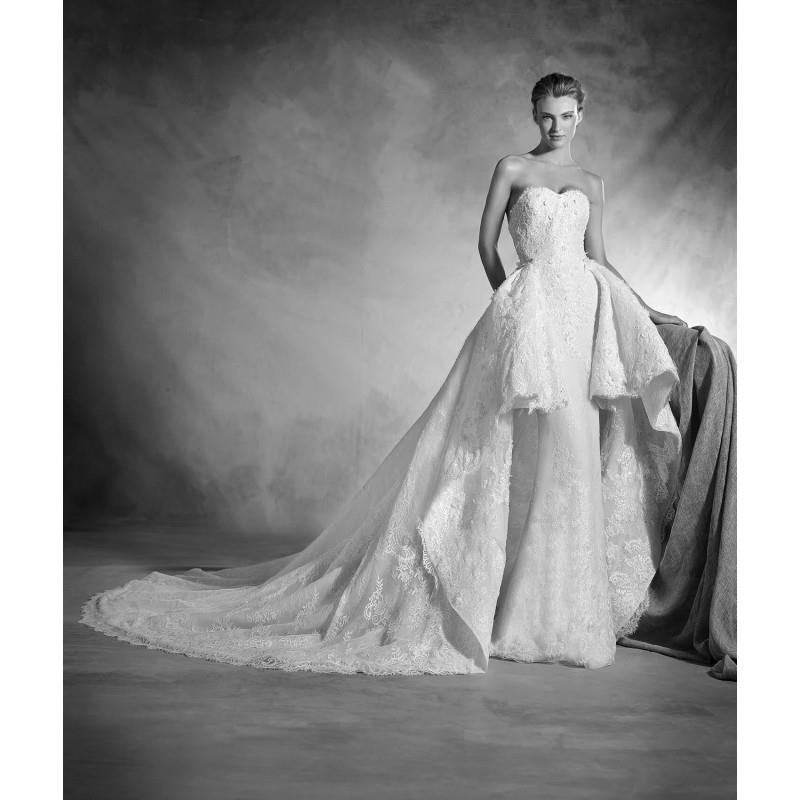 moposa, wedding planning ideas. nancy (atelier pronovias) 2017 nancy