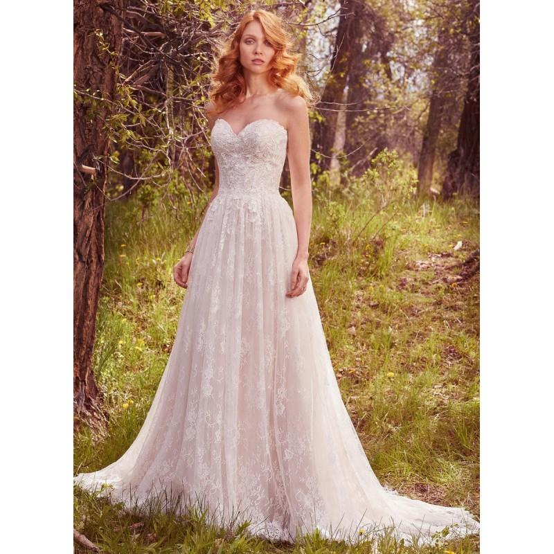 My Stuff, All White Maggie Bridal by Maggie Sottero Rylie - Brand Wedding Store Online