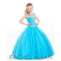 Aqua Rachel Allan Perfect Angels 1607 Rachel Allan Perfect Angel - Rich Your Wedding Day