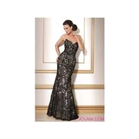 Jovani Black Nude Evening Dress 154531 - Brand Prom Dresses|Beaded Evening Dresses|Charming Party Dr