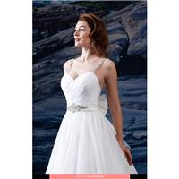 Venus - PA9215 Pallas Athena 2016 Floor Length Sweetheart Princess Sleeveless Short - Formal Bridesm