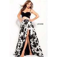 Jovani 60252 Two Piece Floral Prom Gown - 2018 New Wedding Dresses