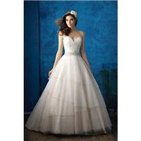 Style 9351 by Allure Bridals - Sweetheart LaceTulle Ballgown Floor length Sleeveless Chapel Length D