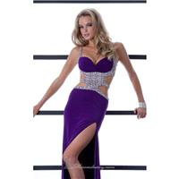 A-line evening gown by Jasz Couture 4525 - Bonny Evening Dresses Online
