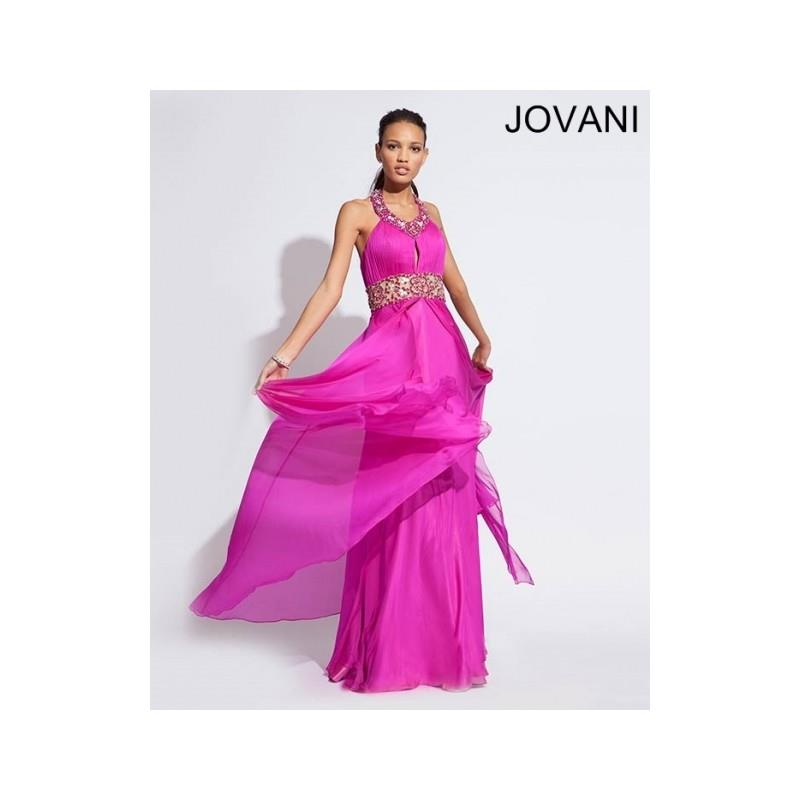 My Stuff, Classical Unique Cheap New Style Jovani Prom Dresses  73030 Fuchsia New Arrival - Bonny Ev