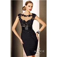 Beaded Dress  by Alyce Black Label 5651 - Bonny Evening Dresses Online