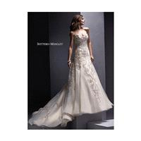 White/Silver Accent Sottero and Midgley by Maggie Sottero Zariah - Brand Wedding Store Online