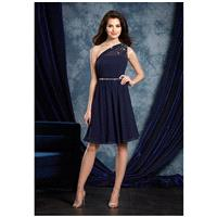 Sapphire Bridesmaids by Alfred Angelo 8109S Bridesmaid Dress - The Knot - Formal Bridesmaid Dresses