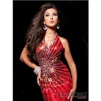 113718 Tony Bowls Paris Red Size 2 In Stock - HyperDress.com