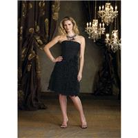 Ivonne D by Mon Cheri - 112D51 Short Dress In Black - Designer Party Dress & Formal Gown